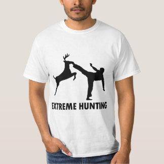 Extreme Hunting Deer Karate Kick T-Shirt