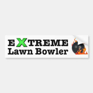 Extreme Lawn Bowler Bumper Sticker