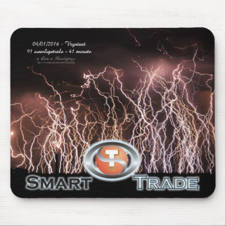 Extreme lightning bolts Business Logo Mouse Pad