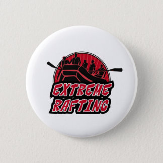 Extreme Rafting 6 Cm Round Badge