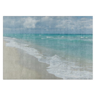 Extreme Relaxation Beach View Ocean Cutting Board