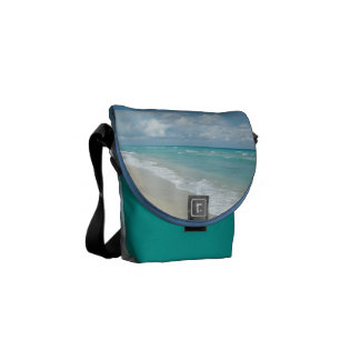 Extreme Relaxation Beach View Shoulder Bag Courier Bags