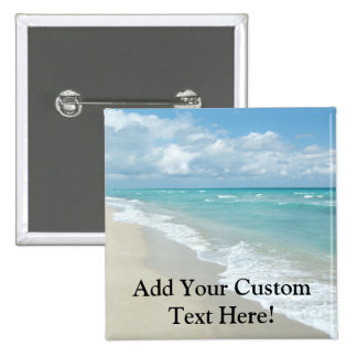 Extreme Relaxation Beach View White Sand Buttons