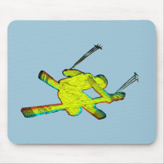 Extreme Skier Mouse Mat