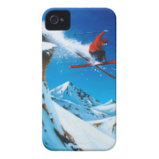 Extreme Skiing Case-Mate iPhone 4 Case