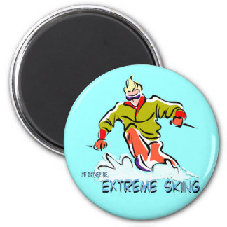 Extreme Skiing Magnets
