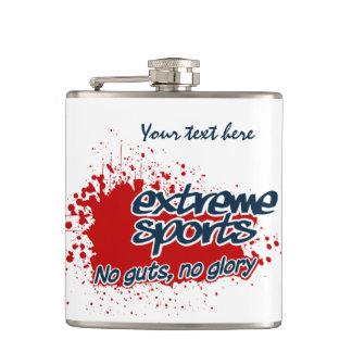 Extreme Sports custom flask