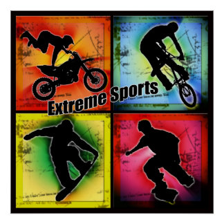 Extreme Sports Poster