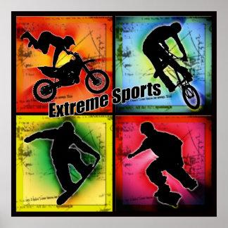 Extreme Sports Print
