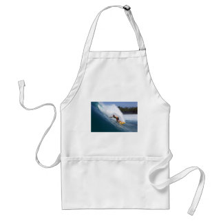 Extreme surfing tropical reef Indian ocean Standard Apron