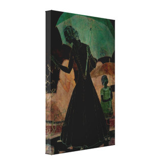 Extreme Vogue Canvas Print