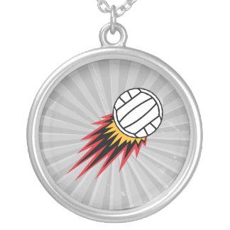 extreme volleball spike design custom jewelry