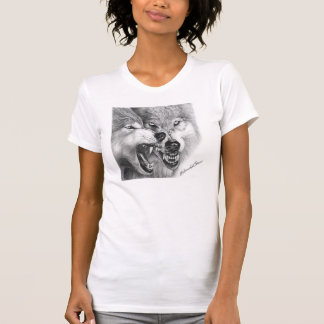 Extremeable Woman Wolf Tee-Shirt T-Shirt