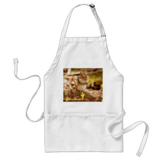 Extremely Cute Chipmunk Adult Apron