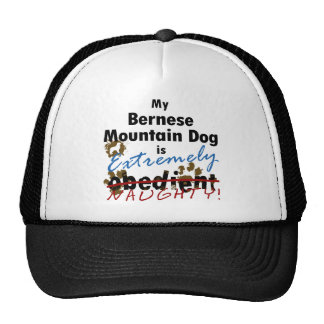 Extremely Naughty Bernese Mountain Dog Cap