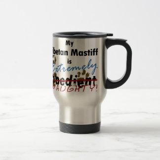 Extremely Naughty Tibetan Mastiff Stainless Steel Travel Mug