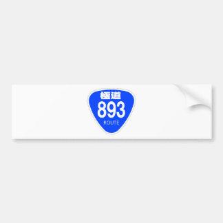 Extremely road 893 line (yakuza) - national highwa bumper stickers