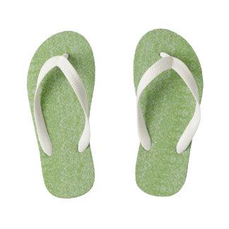 Extropix Organic Green Design Kid's Flip Flops