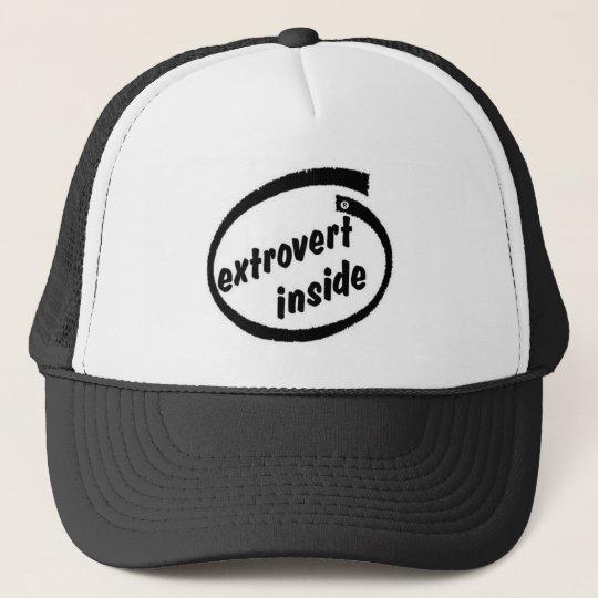 Extrovert inside T-Shirt Trucker Hat