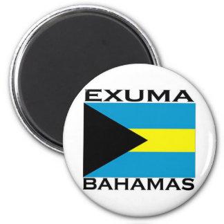 Exuma, Bahamas Magnet