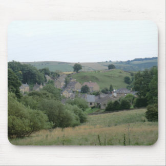 Eyam, the Historic Plague Village in Derbyshire Mouse Mat