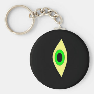 eye2000 basic round button key ring