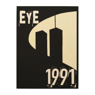 EYE 1991 WOOD WALL ART
