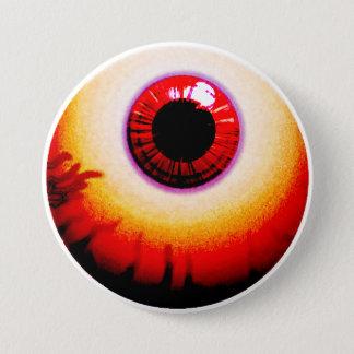 eye 7.5 cm round badge