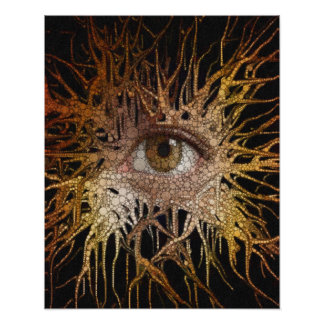 Eye Abstract Art Poster