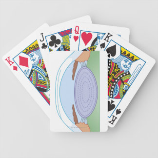 Eye After Corrective Surgery Bicycle Playing Cards