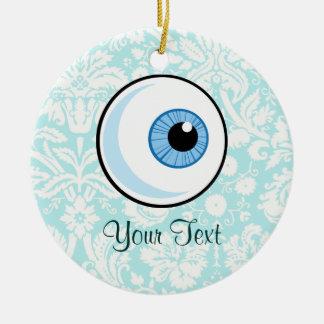 Eye Ball; Cute Christmas Ornament