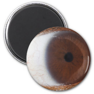 Eye Ball 6 Cm Round Magnet