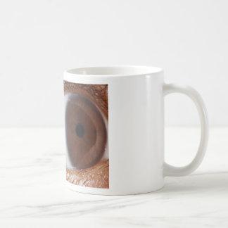 Eye Ball Basic White Mug
