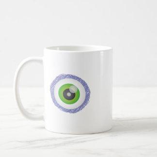 eye basic white mug