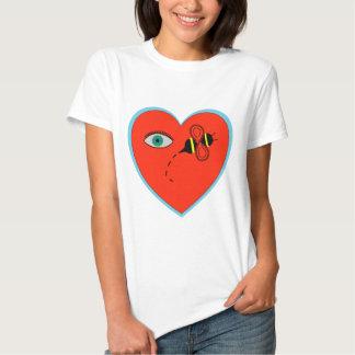 Eye Bee in Love T-shirts