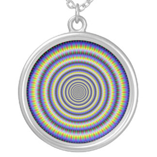 Eye Boggling Circles Necklace