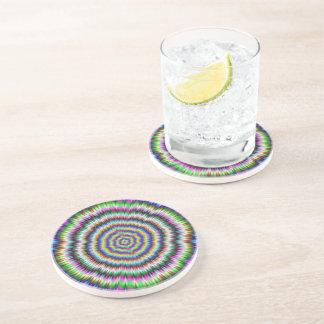 eye boggling psychedelic Coaster