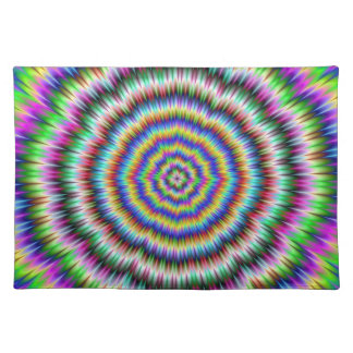 eye boggling psychedelic Placemats