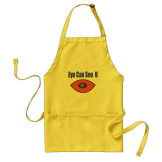 Eye Can See U. Standard Apron