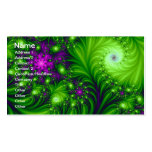 Eye Candy Cute Colourful Abstract Floral Art Pack Of Standard Business Cards