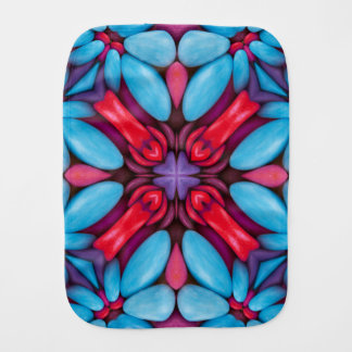 Eye Candy Kaleidoscope Burp Cloth