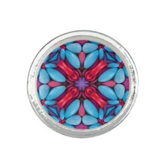 Eye Candy Kaleidoscope  Custom Rings