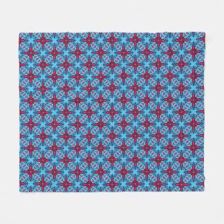 Eye Candy Kaleidoscope Fleece Blankets, 3 sizes
