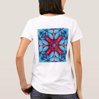 Eye Candy Kaleidoscope   Shirts, back print T-Shirt