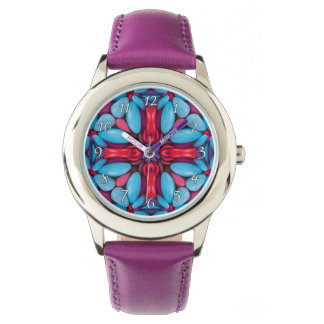 Eye Candy Kaleidoscope Vintage Kids Watch