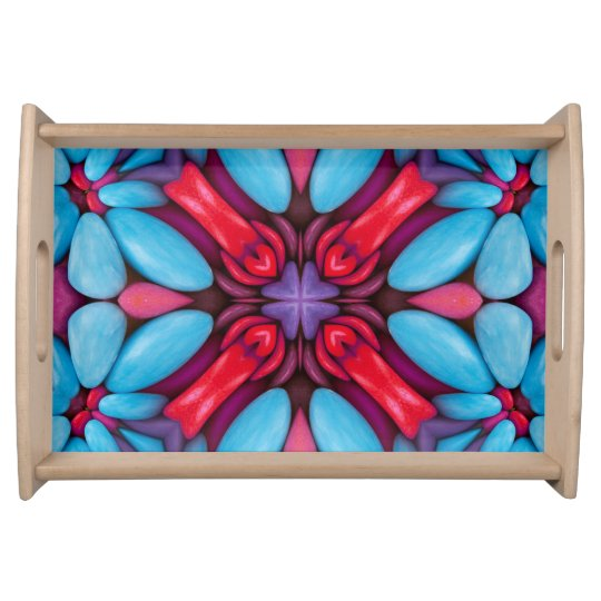 Eye Candy Pattern Serving Trays, 2 sizes Serving