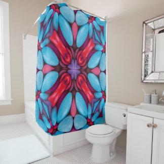 Eye Candy Pattern   Vintage  Shower Curtain