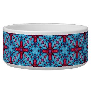 Eye Candy Vintage Kaleidoscope  Pet Dish Pet Bowl