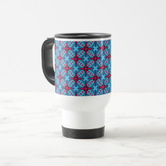 Eye Candy Vintage Kaleidoscope  Travel Mug