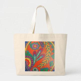 Eye catching, funky tote bag